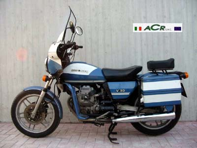 moto guzzi v50 feature